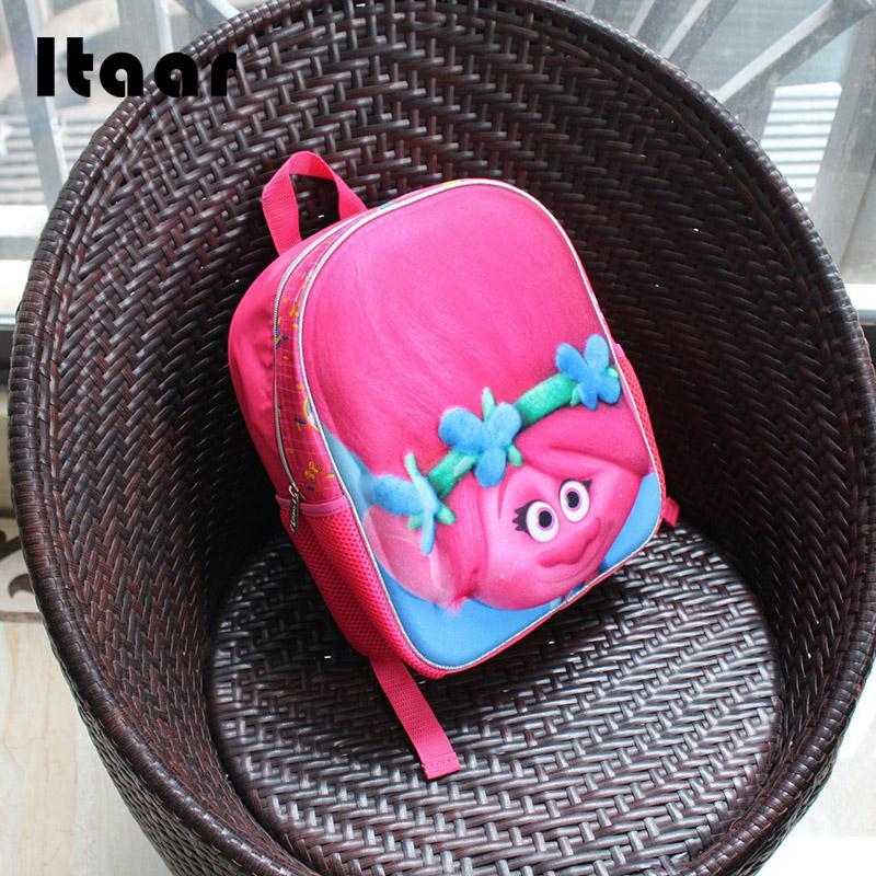 Милый розовый Dreamworks Trolls школьный быть верным вы Детская сумка 12 Рюкзак