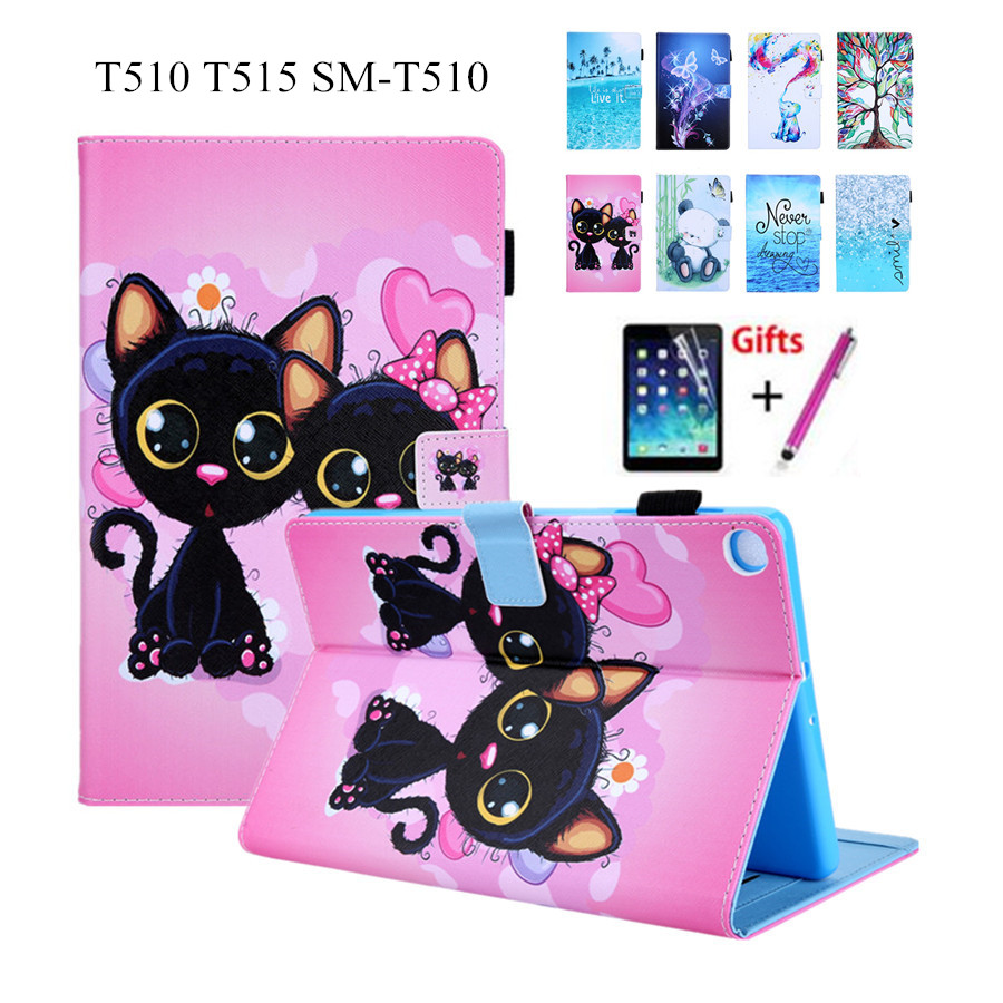 Bangweey Case For Samsung Galaxy Tab A 10.1 2019 T510 T515 SM-T510 Cover Funda Tablet