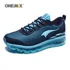 ONEMIX hombre zapatillas para correr Max Size 12 Nice Trends correr malla transpirable hombres Jogging zapato deporte para caminar al aire libre zapatillas cojín - 5