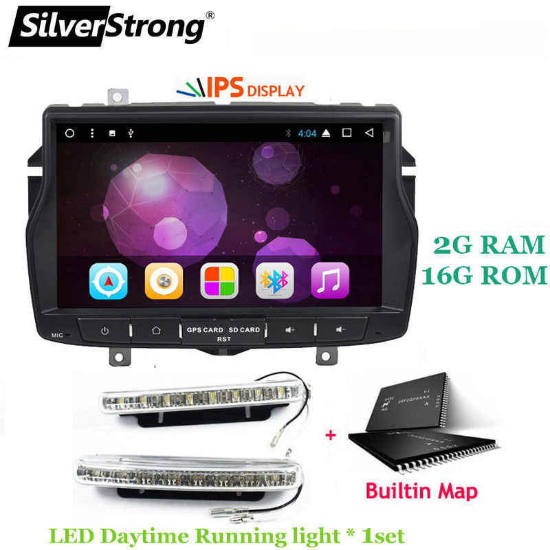 Silverstrong 8inch 1din Android8 1 Radio Car Dvd For Lada Vesta Russian Language Navitel Android