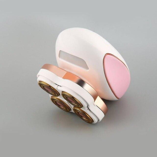 2 in 1 Epilator  Hair Remover Hair Removal Instant&Pain Free Laser Sensor Light Safely Shaver UK EU PLUG USB Rechargeable
