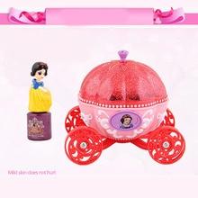 Disney Pretend Play Beauty Fashion Toys frozen girls toys  Pretty Princess Pumpkin Car Makeup Kids Cosmetic Toy Set