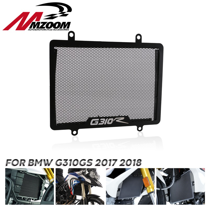 Motorcycle Stainless Steel Radiator <font><b>Protector</b></font> Guard Grill Cover Cooled <font><b>Protector</b></font> Cover For <font><b>BMW</b></font> G310GS <font><b>G</b></font> <font><b>310</b></font> <font><b>GS</b></font> 2017 2018 image