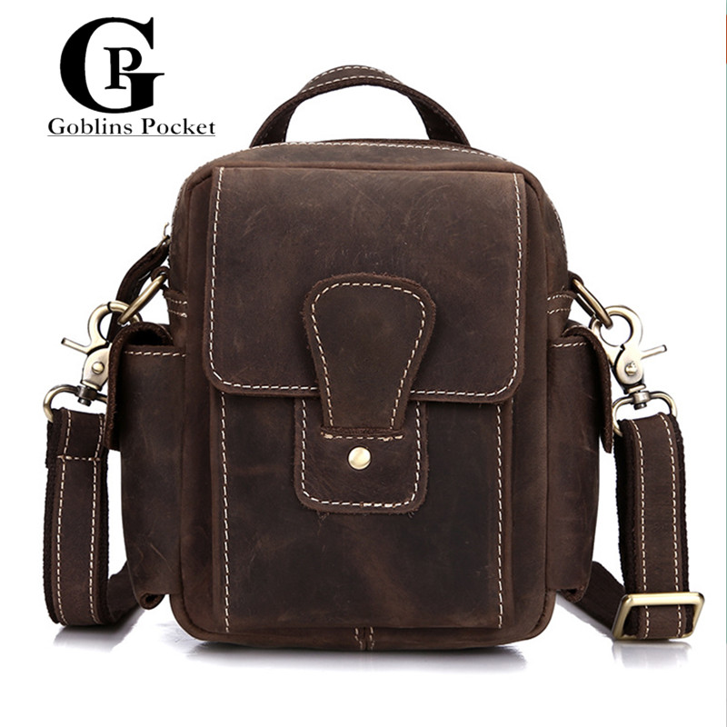 Cowhide ! Male Bags Handbags Genuine Leather Vintage Totes Bag Crazy Horse Leather Men Messenger Bags Travel Crossbody bags  crazy horse genuine leather bag men vintage messenger bags casual totes business shoulder crossbody bags men s travel handbags