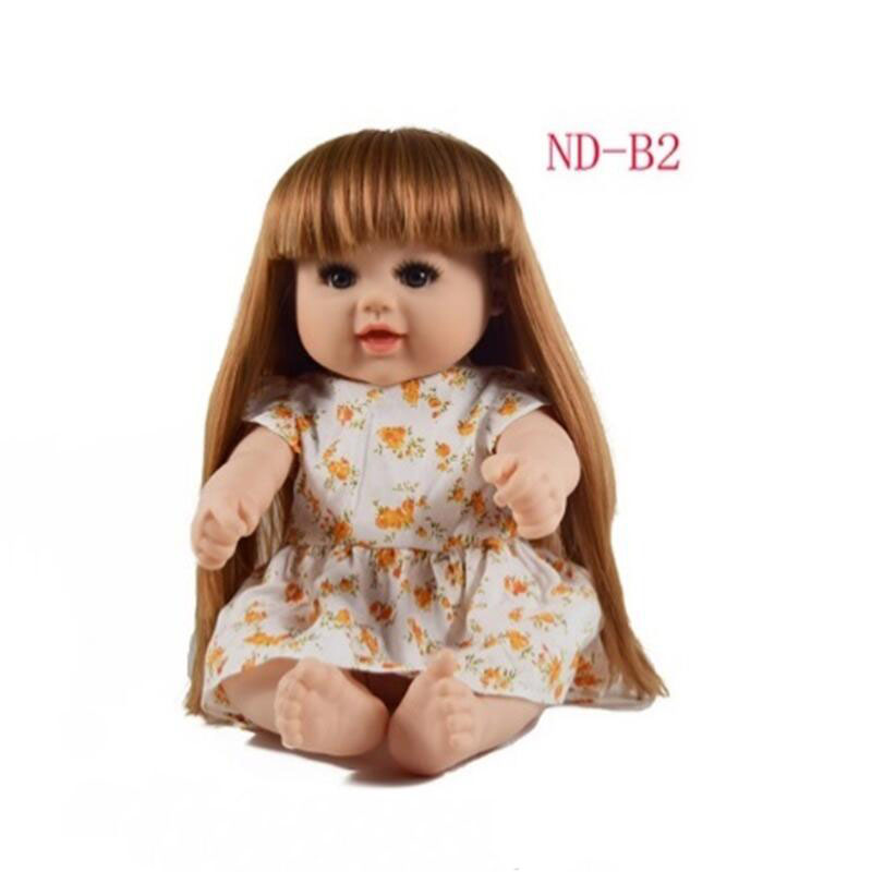 Latest new 48cm Silicone Reborn Baby Dolls Reborn Realista Fashion Dolls For Princess Children Birthday gift Bebes Sitting