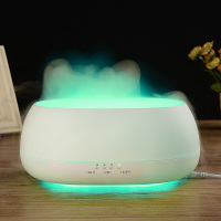 DN 817 500ml Remote Control Air Humidifier Ocean Mist Wood Grain Ultrasonic Air Purifier Humidifier Aroma