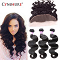Ear To Ear Lace Frontal Closure With Bundles Rosa Hair Products Full Frontal Lace Closure 13x4 With Brazilian Body Wave Bundles