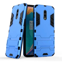 Case For Oneplus 6T Luxury Shockproof Armor Rubber Hard PC Cover Anti-Fall Soft Edge Full Back