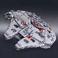 5265Pcs LEPIN 05033 STAR WARS Ultimate Collector S Big Millennium Falcon Figure Blocks Building Toys For