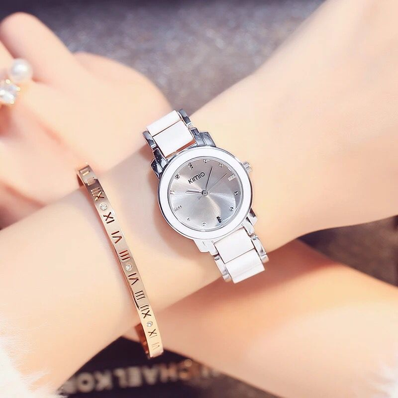 Ceramic Watch Strap 2018 Kimio Brand Casual Fashion Clock Ladies Dress Women Quartz Watches Bracelet Wristwatch Relogio Feminino