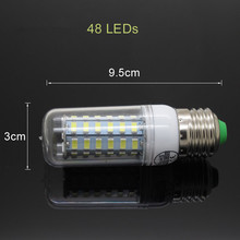 E27 LED 9W 12W 15W 20W 25W SMD5730 Lamp Light AC 220V 230V 240V 5730 Corn Bulb Chandelier Lights & Lighting Warm Cool White