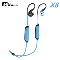 MEE Audio X8 Active Secure Fit Stereo Wireless Sports Bluetooth In Ear Earphone With Mic Calls Control Waterproof Earbuds