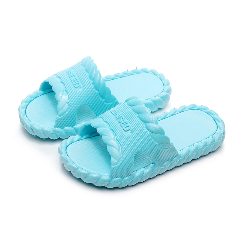 2019 Summer Children Slippers for Boys Girls Beach Shoes Kids Casual Sandals Soft Sole Fashion Bathroom Non slip Water Shoes in Slippers from Mother Kids