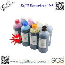 8 цветов* 1000 мл Эко чернила на основе растворителя для Epson R2000 R1900 принтом