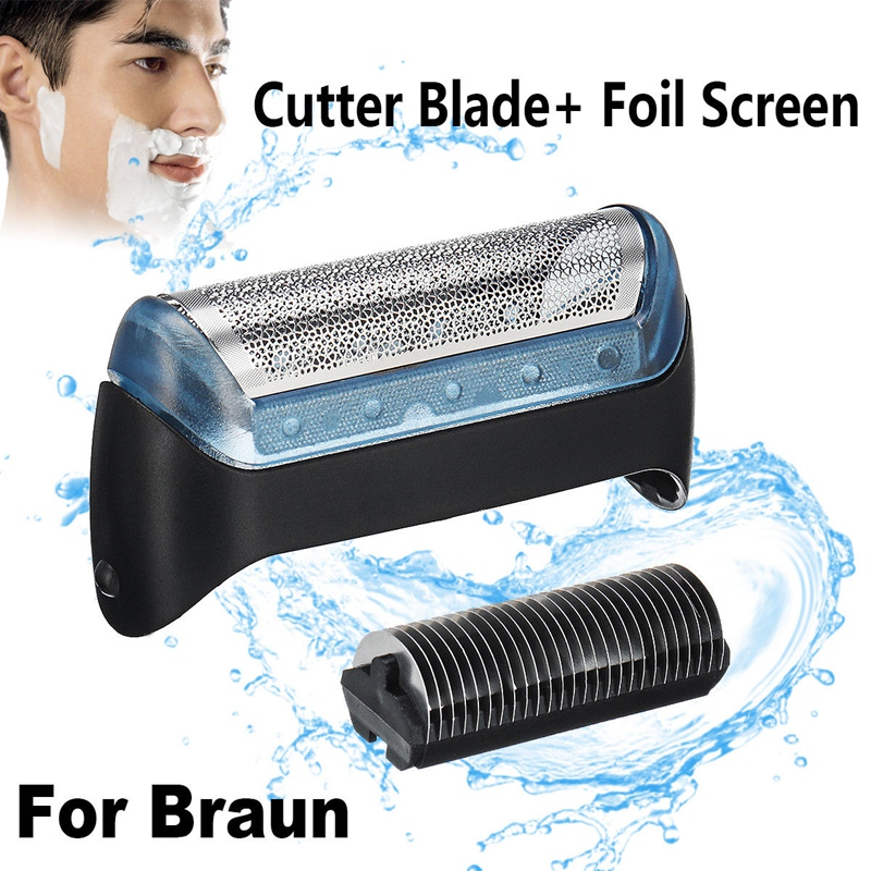 Shaver/Razor Foil & Cutter Blade Replacement For Braun 10B/20B/20S, Shaver Replacement Foil+Cutter Blade