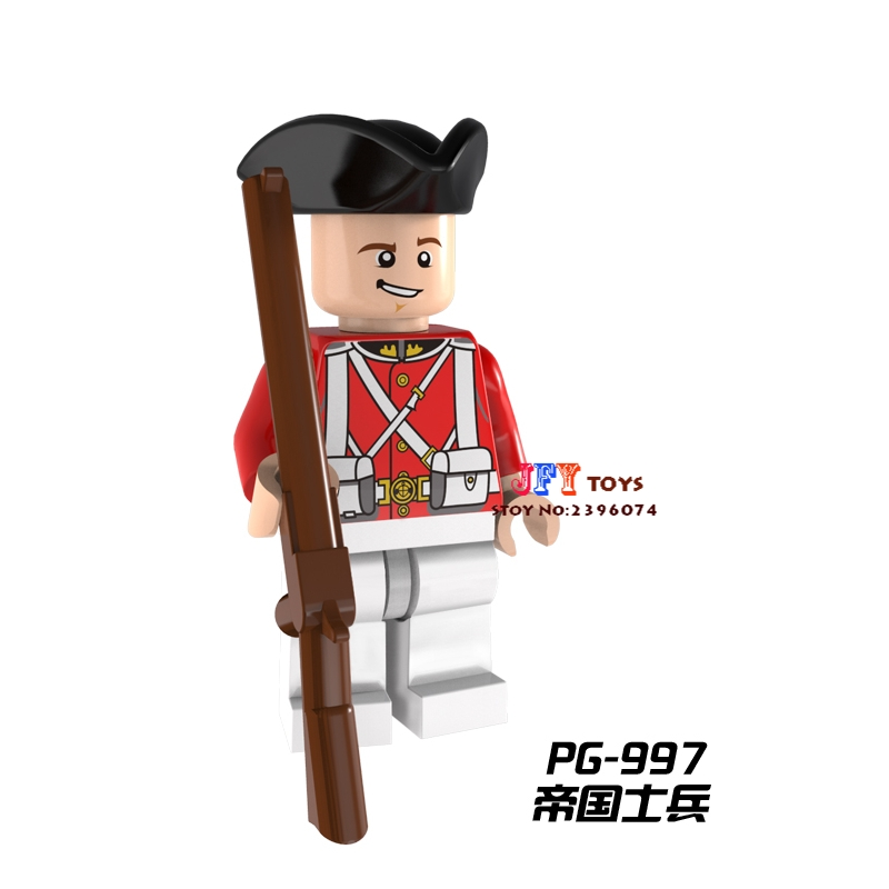 Model Building Bright 50pcs Starwars Imperial Redcoat Army Collectible Building Blocks Bricks Friends For Kids Children Toys Brinquedos Menina Providing Amenities For The People; Making Life Easier For The Population