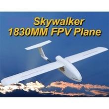 Última Versión 2017 2016 Skywalker 1830 1830mm FPV Avión UAV Control Remoto Eléctrico Desarrollado Planeador RC Modelo EPO Blanco aviones