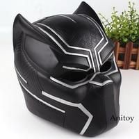 Marvel Comics Marvel Black Panther Action Figure Figurine Black Panther Helmet for Cosplay Toys 21cm