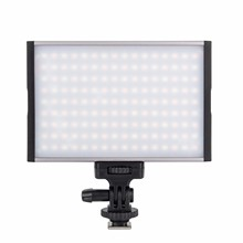 EACHSHOT ESL-144C Led Camera Light 144 LED Dimmable Video Light 1500LM LCD 15W Camcorder Video Lighting for Digital DSRL Camera цена и фото