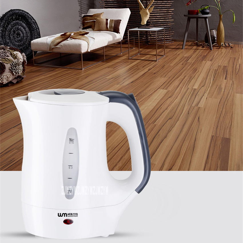 New Arrival Portable Travel Abroad Electric Kettle 0.5L Mini Electric Kettle WST-0903 European Travel Kettle 110-240V 550-650W new arrival portable travel abroad electric kettle 0 5l mini electric kettle wst 0903 european travel kettle 110 240v 550 650w