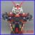 FÃS MODELO Motor modelo Rei 1/35 Seed Gundam Astray Red quadro Cabeça busto busto estátua/Montado gundam modelo de Robô gunpla