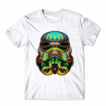 Creative Printed Star War T-Shirt