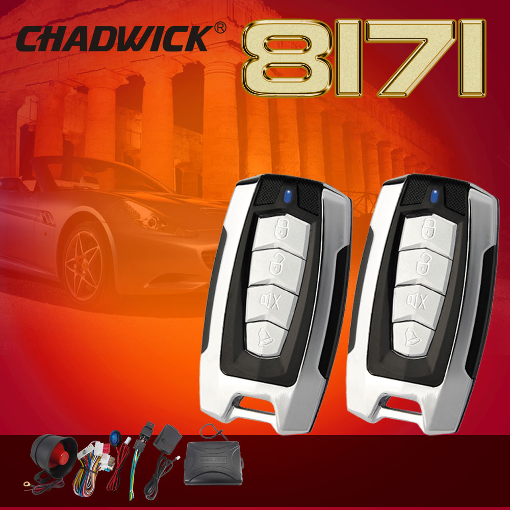 CHADWICK One Way Car Alarm Security System for lada toyota suzuki universal remote control Door Lock Keyless Entry System 8171