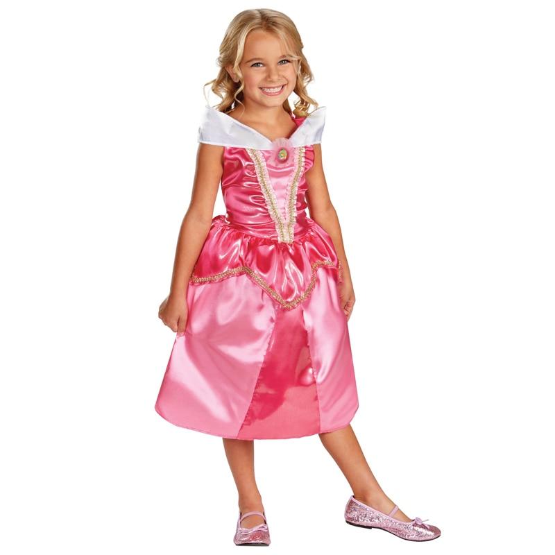 Flickor Favorit Fairytale Princess Aurora Den Sleeping Beauty Sparkle - Maskeradkläder och utklädnad
