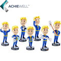 Горячая Gaming Heads Fallout 4 Символов Vault Boy Bobbleheads Серии ПВХ Фигурку Коллекция Вентилятор Ребенок Подарок Игрушки Бюро Кукла