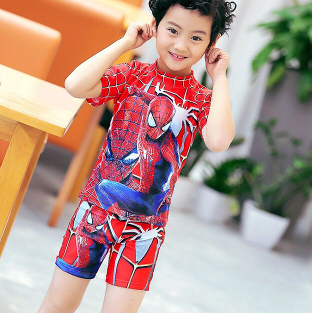 934d3803a0367 2018 Spiderman swimming suit for kids