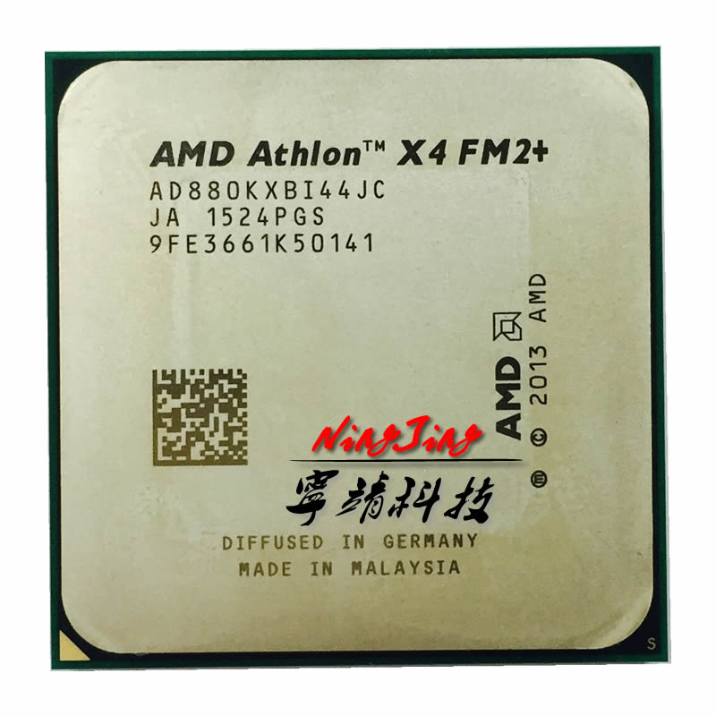 AMD Athlon X4 880K X4 880 K 4.0 GHz Quad-Core CPU Processor AD880KXBI44JC Socket FM2+