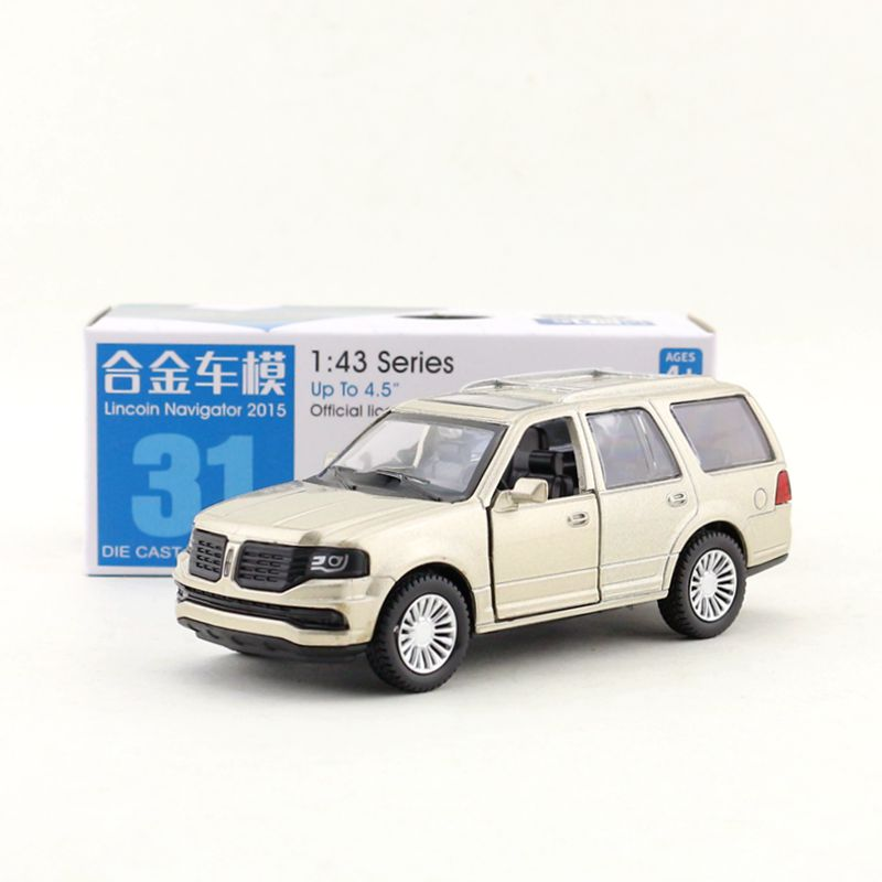 1 46 Scale Diecast Toy Model Ford Lincoln Navigator 2015 Suv Super