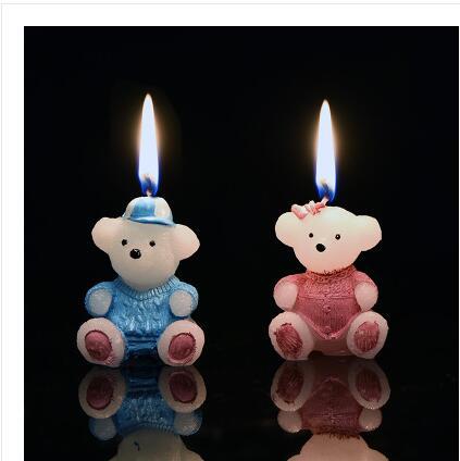 Bear romantic package creative birthday cake decorating supplies children baby cartoon