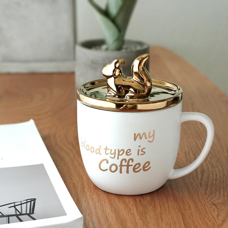 Luxury Ceramic Coffee Cup Lid