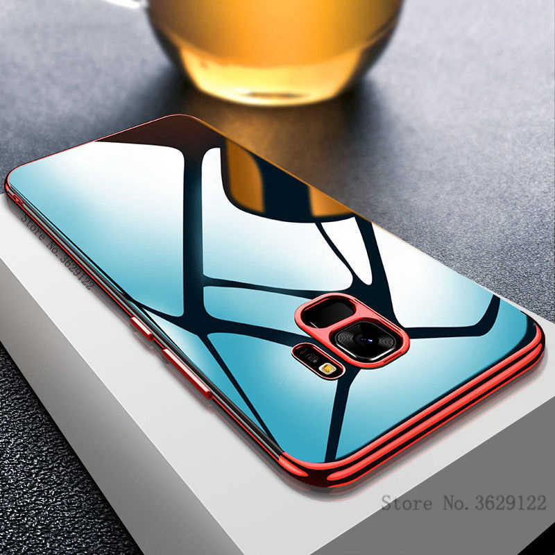 Ultra Thin Soft TPU Case For Samsung Galaxy S9 S8 Plus A6 A8 Plus 2018 S7 Edge J3 J5 2016 J7 Prime A3 A5 A7 2017 Note 8 9 Cover