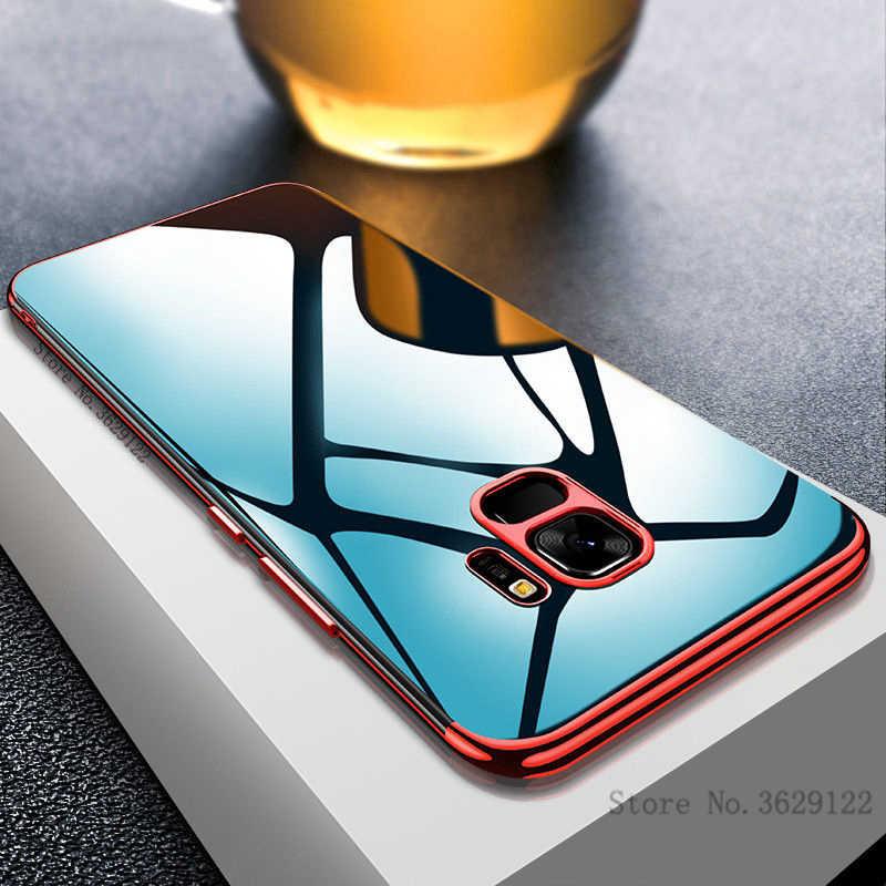 Ultra Thin Soft TPU Case For Samsung Galaxy S9 S8 Plus A6 A8 Plus 2018 S7 Edge J3 J5 2016 J7 Prime A3 A5 A7 2017 Note 8 9 Cover