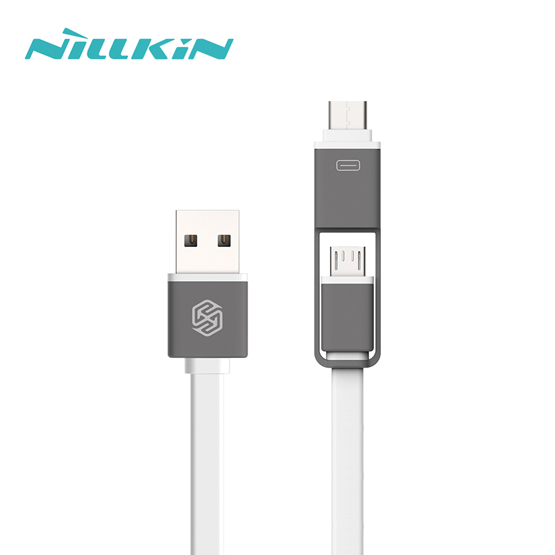 Usb to micro usb and type-c usb cable for macbook and android device.smartphone usb charge.with 120cm and Easy Converter