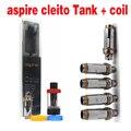 vaporizer e cigarette original cleito atomizer with Aspire Cleito Dual Clapton Coil 0.2ohm 0.4ohm Aspire Cleito Coil YY
