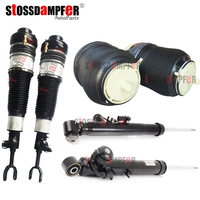 StOSSDaMPFeR 6PCS Rear Air Shock Front Suspension Air Struts Shock Absorber Fit Audi A6 C6 4F0513032H(05312L) 4F0616040AA(39AA)
