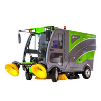 Fashion Design Of Automatic Sidewalk Sweeper Supplier Sidewalk Robot Sweeper Factory Cleaning Tools Sweeper ART S19
