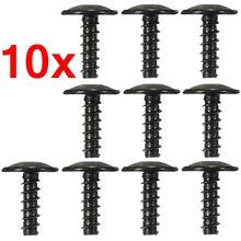 N90775001 tampa do motor de carro, arco da roda, forro interno, alavancas, para fender, proteção contra respingo, parafusos torx, autofita, com 10 peças para vw/audi