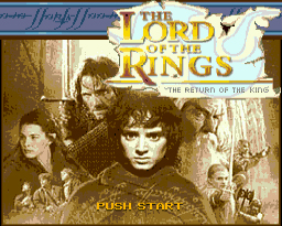 The Lord of The Rings 3 16 bit MD Game Card For Sega Mega Drive For Genesis