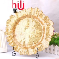 Hot spot Hot flakes Snowflakes Golden glass plates Department stores Scandinavian Tableware