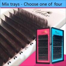 1 Box/set Eyelashes Natural False Eye Lashes Mink Cilios Posticos Individual Eyelash Extension Fake Kirpik Silk Lash Human Hair