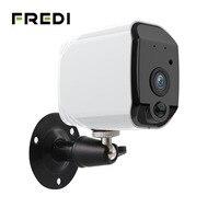 FREDI 低消費電力バッテリー屋外 IP カメラ 1080 P 本当にワイヤレス監視カメラホームセキュリティ防水無線 Lan IP カメラ