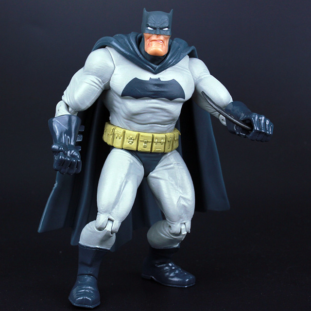 "DC Super hero s Super hero Gordura Batman PVC Movable Figuras de Ação Collectible Modelo Toy Kids Presente 7 ""18 cm KT226"