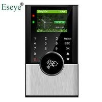 Биометрические посещаемость Системы USB RFID Card Reader времени сотрудников Управление машина Электронная Smart голос английский 32bit Процессор