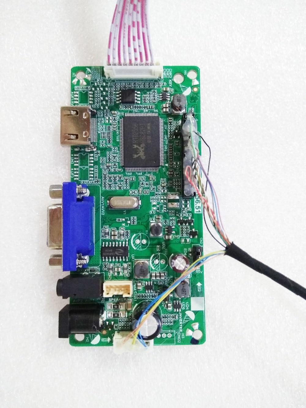 HDMI+DVI+VGA  Controller Board Monitor Kit for LCD led 1920×1080 M270H1-L01
