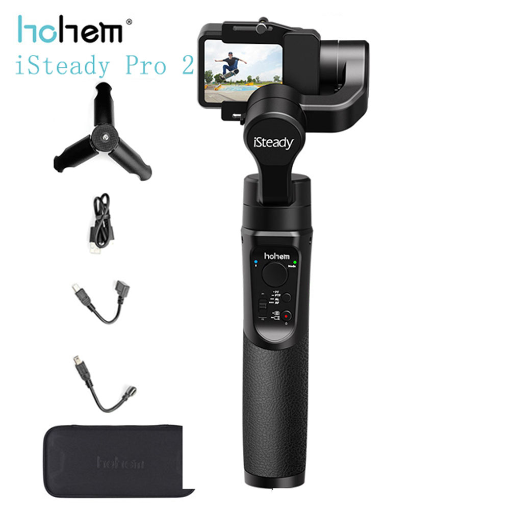 Hohem iSteady Pro 2 3 Axis Handheld Gimbal Stabilizing for GoPro Hero 7 6 5 4