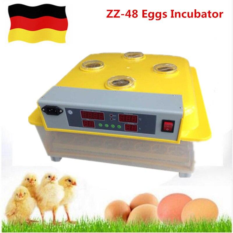 Лучшая цена коммерческих цифровой авто выводные полностью автоматическая многофункциональный яиц инкубатор курица питомнике инструмент